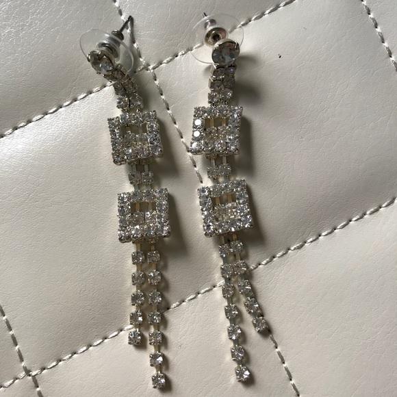 Jewelry - Cubic Zirconia Drop Earrings